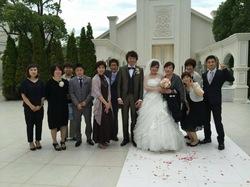 きれいな花嫁さんでした!