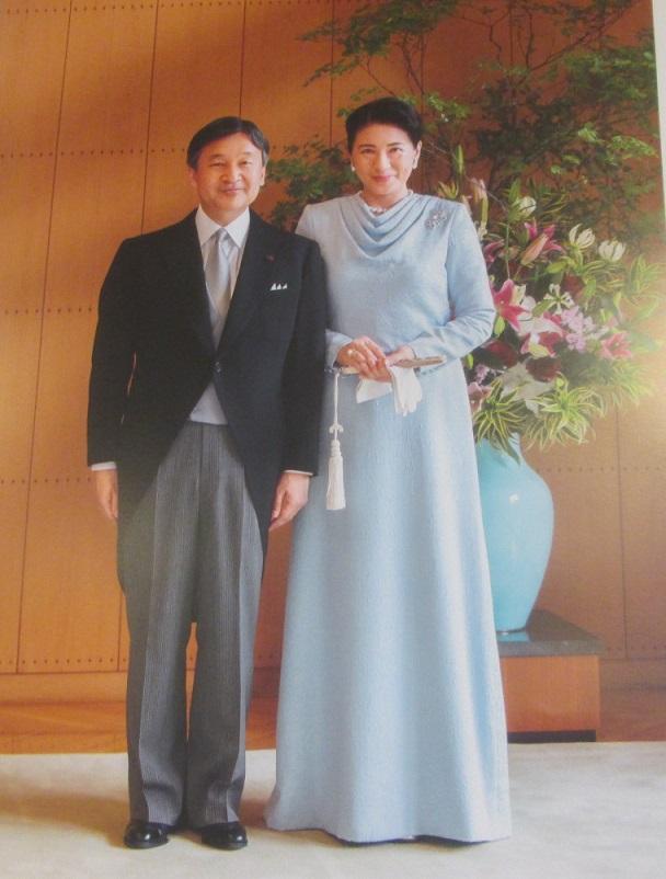 新天皇ご夫妻のカレンダーです♪