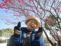 綺麗な梅に笑顔がこぼれますね♪